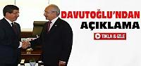 Davutoğlu Kılıçdaroğlu İle Görüştü-VİDEO