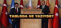 Davutoğlu'ndan Erdoğan'a Anlamlı Hediye