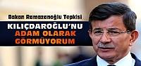 Davutoğlu'ndan Kılıçdaroğlu'na sert tepki