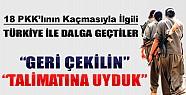 Demirtaş PKK'lıların Firarı ile Alay Etti