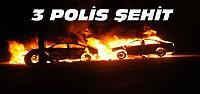 Diyarbakır ve Cizre'de 3 polis Şehit Oldu