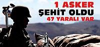 Diyarbakır'da karakola saldırı:1 şehit 47 yaralı