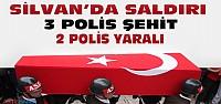 Diyarbakır'da Saldırı:3 Polis Şehit