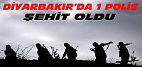 Diyarbakır'dan Acı Haber:1 Polis Şehit