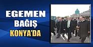 Egemen Bağış Konya'da