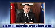Egemen Bağış'tan Meram Belediyesi'ne Teşekkür Mektubu