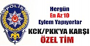 Emniyet'ten KCK/PKK'ya Karşı Özel Tim