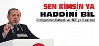Erdoğan Bahçeli ve HDP'yi Eleştirdi