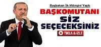 Erdoğan İlk Mitingini Samsun'da Yaptı-VİDEO