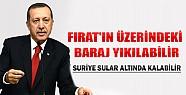 Erdoğan Uyardı: Suriye Sular Altında Kalabilir