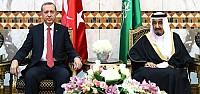 Erdoğan ve Kral Suriye konusunda anlaştı