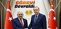 Erdoğan Yıldırm'a Hükümet kurma görevini...