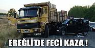 Ereğli'de Feci Kaza!