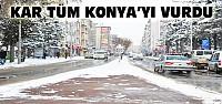 Ereğli'de Karla Mücadele Çalışmaları