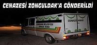 Ermenek'te İşçinin Cenazesi Zonguldak'a Gönderildi