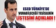 Esed Türkiye'de Vurabileceği Tesislerin Listesini Açıkladı