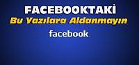 Facebookta Bu Yazıyı Paylaşmayın