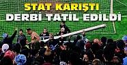 Fenerbahçe Trabzonspor Derbisinde Olaylar-Maç Tatil Edildi