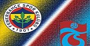 Fenerbahçe Trabzonspor Maçında Gol Çıkmadı