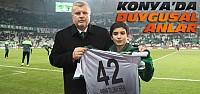 Fethi Sekin'in Oğluna Konya Stadında Forma...