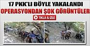 Firar Eden PKK'lıların Yakalanma Anı-Tıkla İzle
