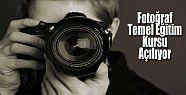 Fotoğraf Temel Eğitim Kursu Açılıyor
