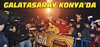 Galatasaray Konya'da Coşkuyla Karşılandı