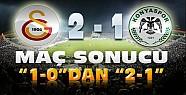 Galatasaray Torku Konyaspor Maç Sonucu