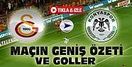 Galatasaray Torku Konyaspor Özeti-VİDEO-Tıkla İzle