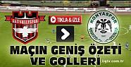 Gaziantepspor Torku Konyaspor Maç Özeti ve Goller-VİDEO-Tıkla İZLE