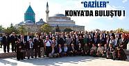 Gaziler Konya'da Bululuştu