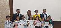Genç Zekalar Yarışmasında Ödüller...