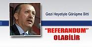 Gezi Parkı Referanduma Gidebilir