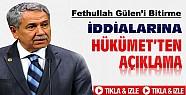 Gülen'i Bitirme İddialarına Bülent Arınç'tan Cevap-VİDEO
