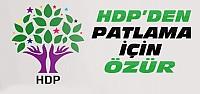 HDP Ankara Patlaması İçin Özür Diledi