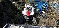 Hüyük'te Atv Motoru Devrildi: 1 Yaralı