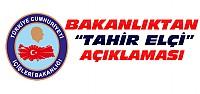İçişleri Bakanlığından Tahir Elçi Açıklaması