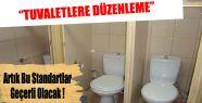 İçişleri Bakanlığı'ndan Tuvalet Düzenlemesi