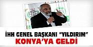 İHH Genel Başkanı Yıldırım Konya'ya Geldi-Önemli Açıklamalar Yaptı