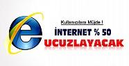 İnternet Kullanıcılarına Müjde-Yeni Uydu ile %50 Ucuzlayacak
