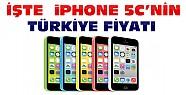 iPhone 5C'nin Türkiye Fiyatı Belli Oldu-İşte Fiyatları
