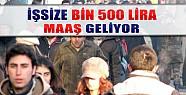 İşsize 1500 Lira Maaş Geliyor
