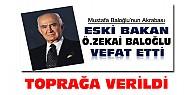 İstanbul'da Vefat Eden Baloğlu Konya'da Toprağa Verildi
