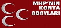 İşte MHP'nin 1 Kasım Konya Adayları
