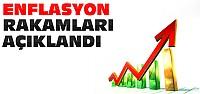 İşte Ocak Ayı Enflasyon Rakamları