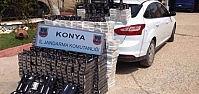 Jandarma 8 Bin Paket Kaçak Sigara Ele Geçirdi