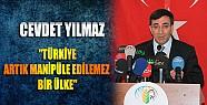 """Kalkınma Bakanı """" Başbakana Saldıranlar Aslında Türkiye'ye  Saldırıyor!"""""""