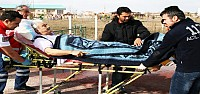 Kalp Krizi Geçiren Hastaya Helikopter Ambulans