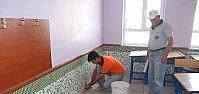 Karatay'da Okullarda Eğitim Öncesi Tadilat