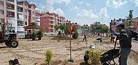 Karatay'da Yeşil Alan Ve Park Yapım Çalişmalari